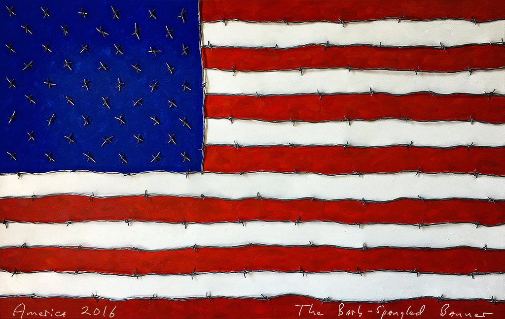 The Barb-Spangled Banner